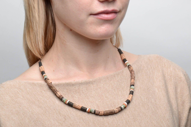 Designer ceramic necklace photo 2