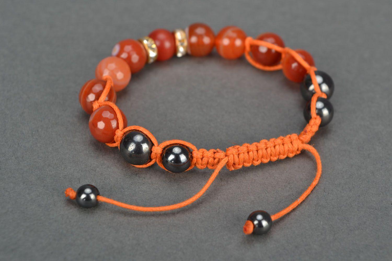 Natural stone bracelet photo 4
