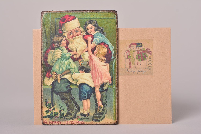 Первая открытка фото