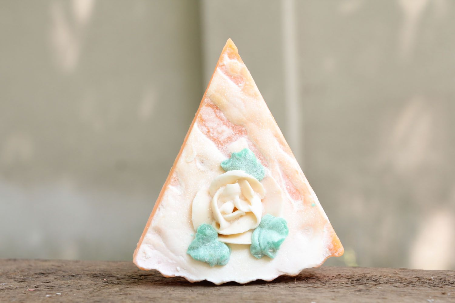 Soap with rose aroma photo 3
