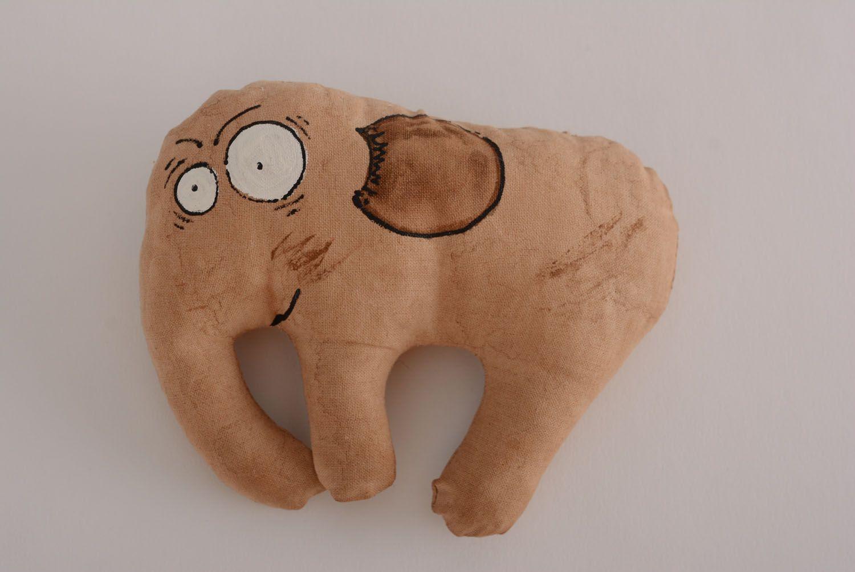 Soft coffee toy Elephant photo 5
