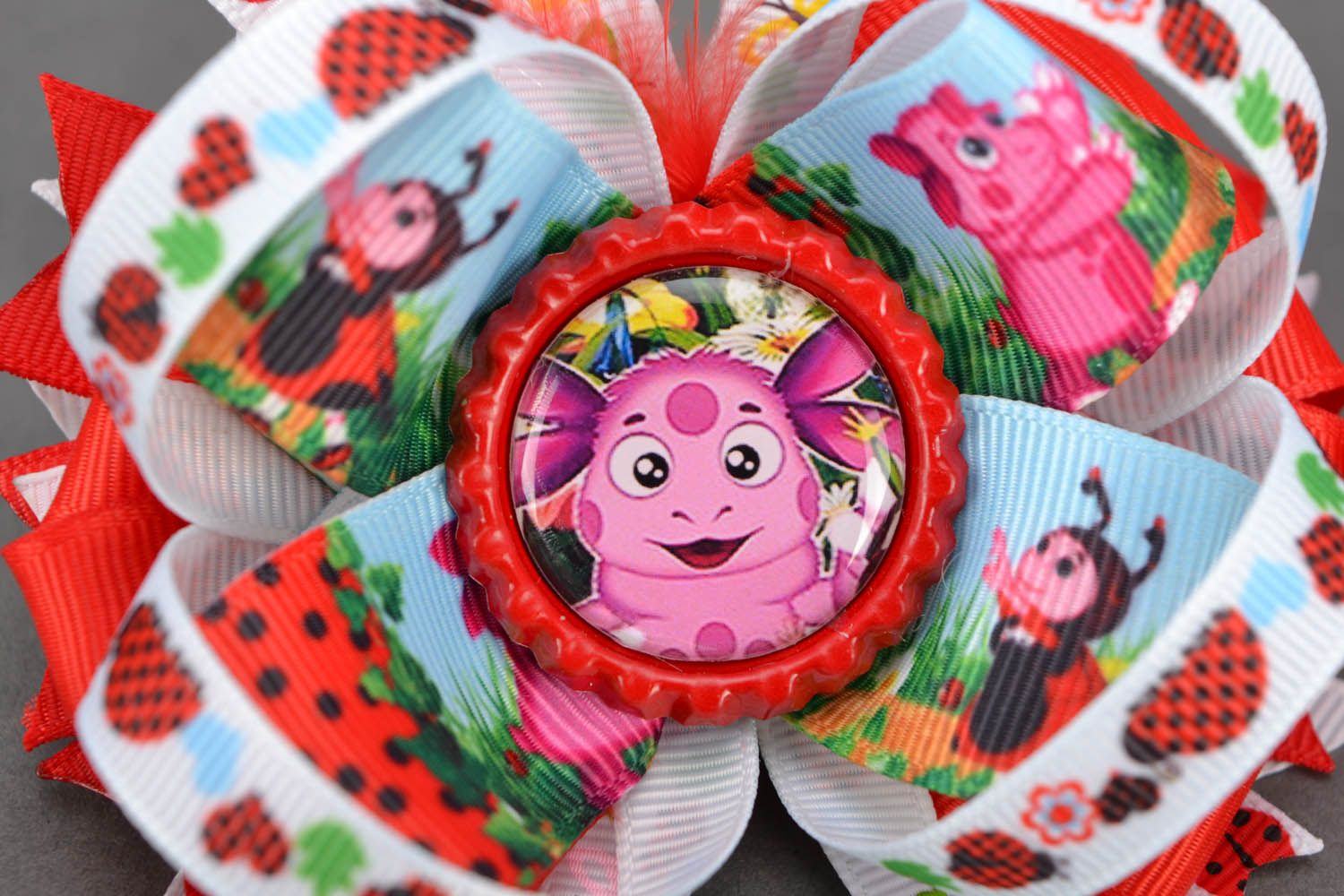 Baby scrunchy with cartoon characters photo 4