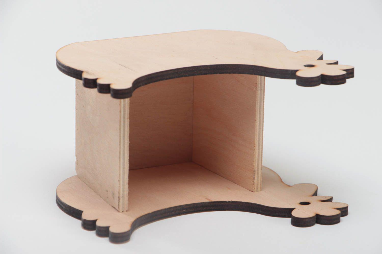 madeheart porte serviettes de table en bois brut avec. Black Bedroom Furniture Sets. Home Design Ideas