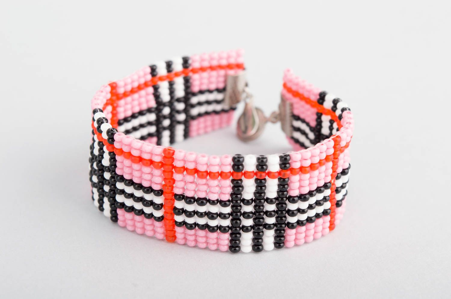 Homemade jewelry beaded bracelet bead jewelry kids accessories gifts for girls  photo 3