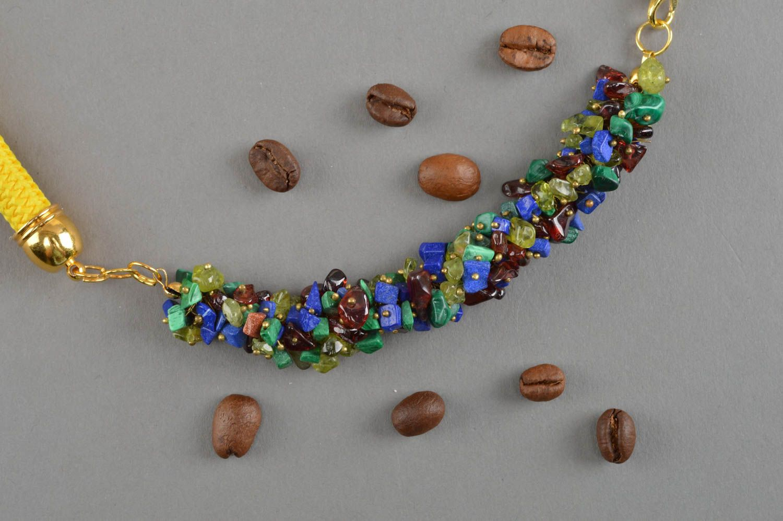 53af1f2e510b collares de piedras naturales Collar de piedras hecho a mano accesorio de  moda bisutería artesanal para
