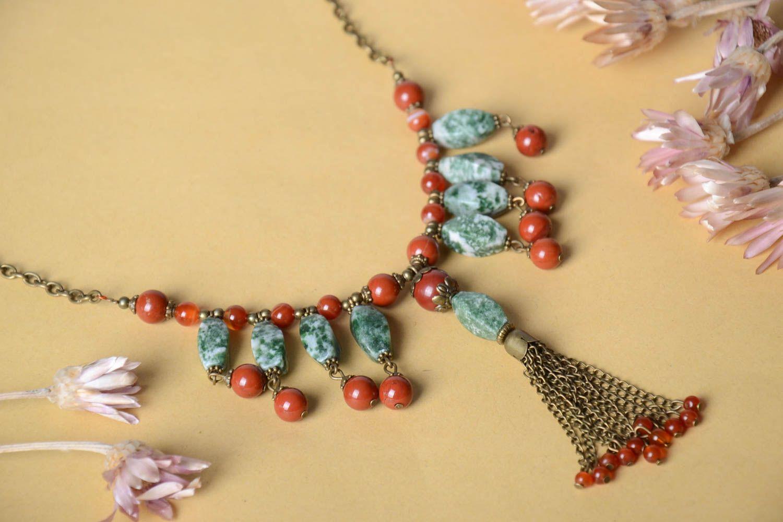 madeheart collier pierres naturelles bijou fait main design insolite accessoire femme. Black Bedroom Furniture Sets. Home Design Ideas