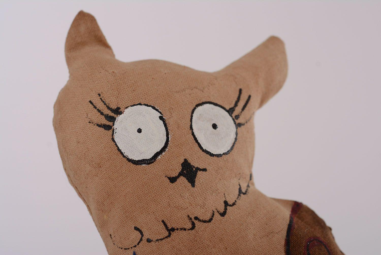 Soft toy with coffee aroma Owl photo 2