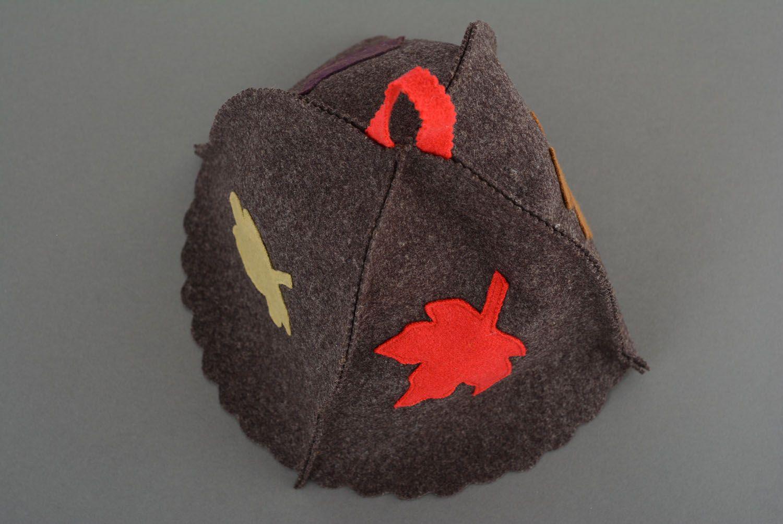 Unusual homemade steambath hat photo 3