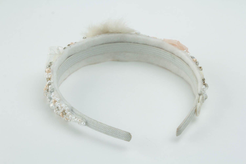 Beautiful handmade headband photo 3