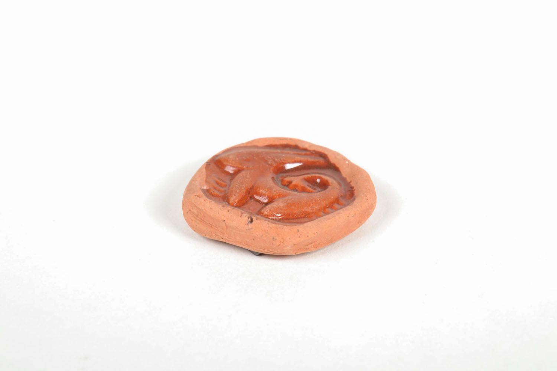 Ceramic fridge magnet Capricorn photo 3