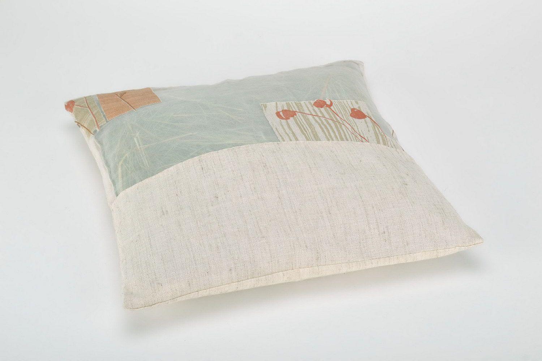 Herbal pillow in a cotton pillowcase photo 3