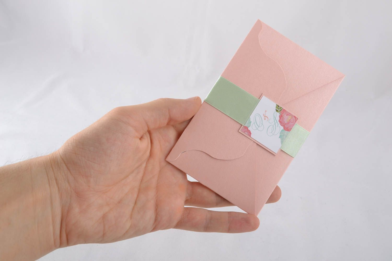 Handmade invitation card photo 4