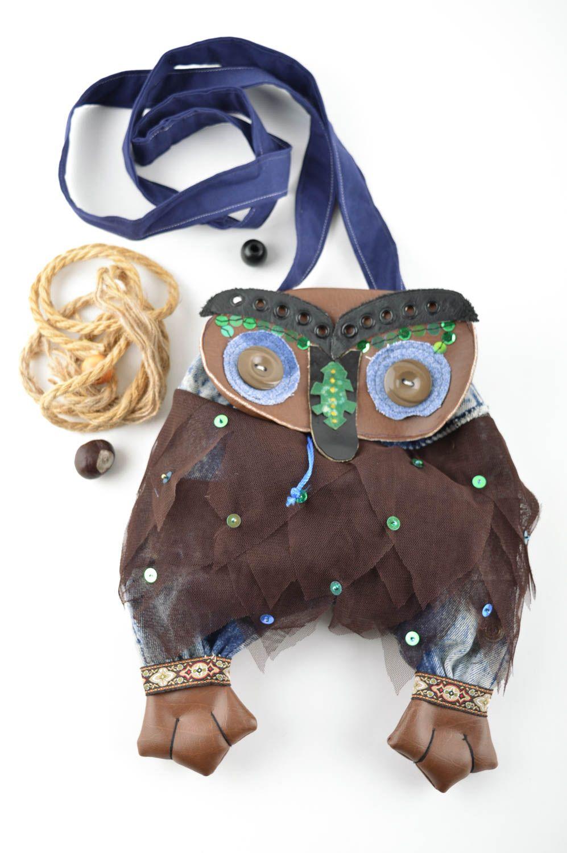 Handmade designer interesting bag unusual female shoulder bag cute bag photo 1