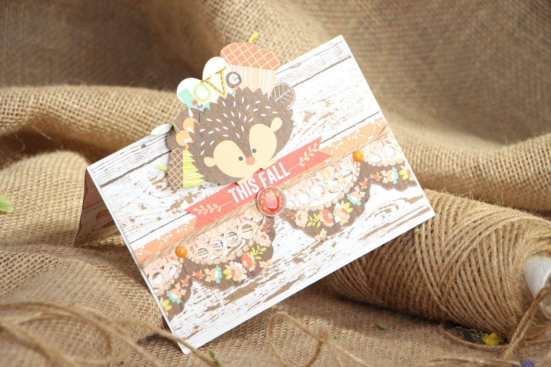 Unique designer postcard photo 5