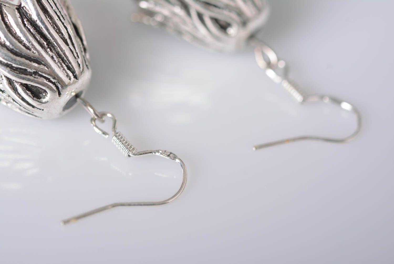 Handmade jewelry botanic earrings flower earrings accessories for girls photo 4