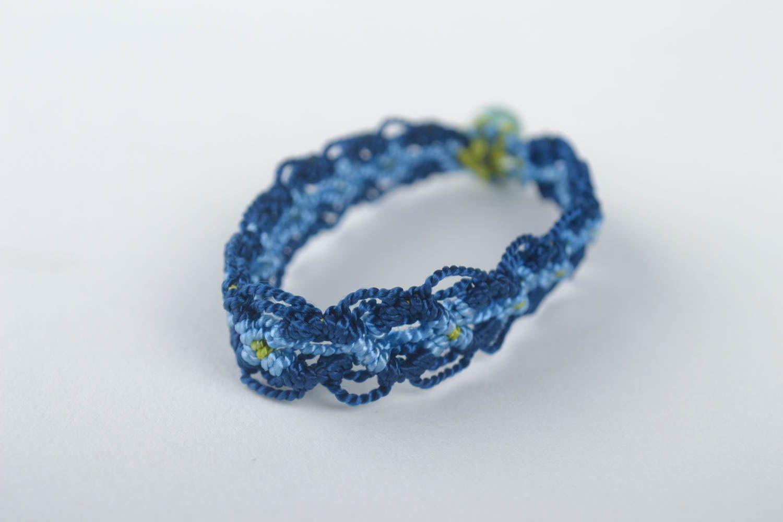 Macrame bracelet handmade friendship bracelet woven jewelry designer accessories photo 2