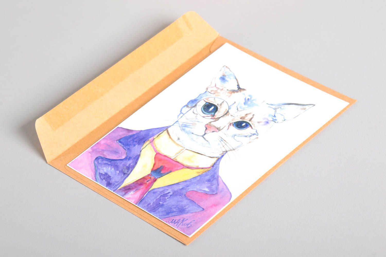 Handmade greeting card postcard ideas gifts for friends souvenir ideas  photo 5