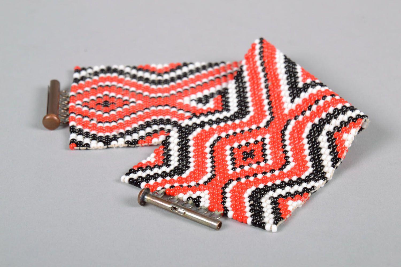 Модный браслет из бисера  фото 4