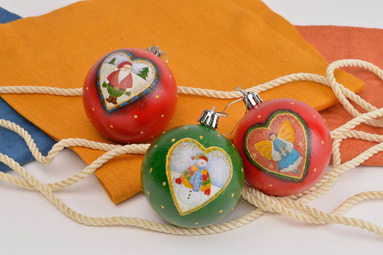 Madeheart bolas de navidad artesanales adornos navide os - Adornos navidenos artesanales ...
