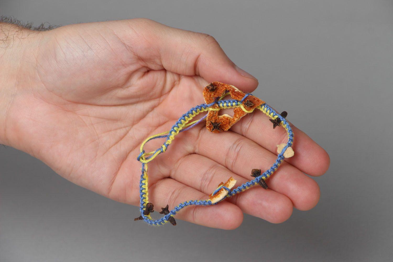 Thread bracelet Aroma photo 4