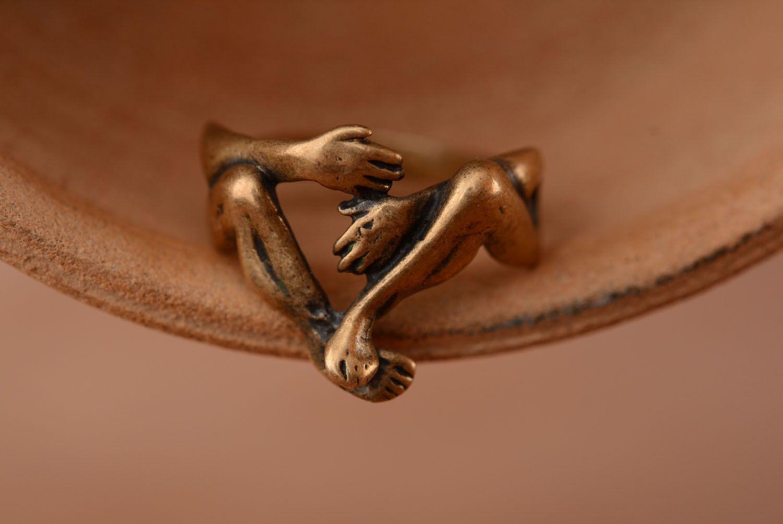 Кольцо из бронзы Вечность фото 1