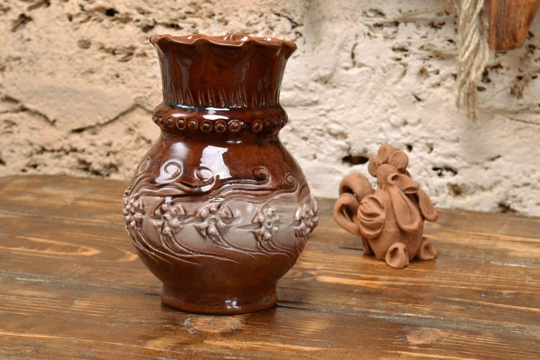 madeheart handgemachte deko vase aus ton mit bedeckung von glasur f r interieur dekoration. Black Bedroom Furniture Sets. Home Design Ideas