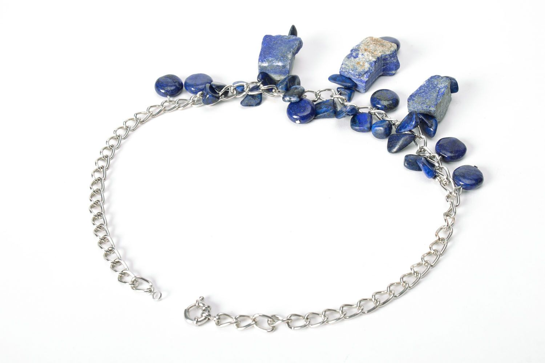 Lazurite necklace photo 3