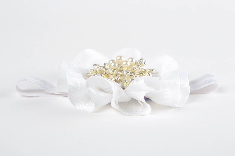 Handmade headband designer headband accessory for hair flower headband photo 4