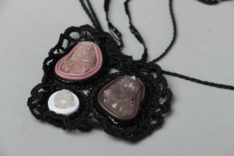 Beautiful pendant with amethyst photo 3