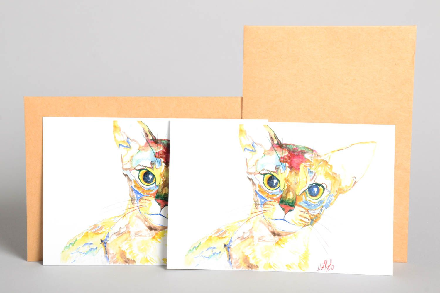 Handmade greeting cards unusual cards gift ideas designer cards for signature photo 2