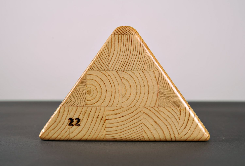 Triangular block for practicing yoga photo 4