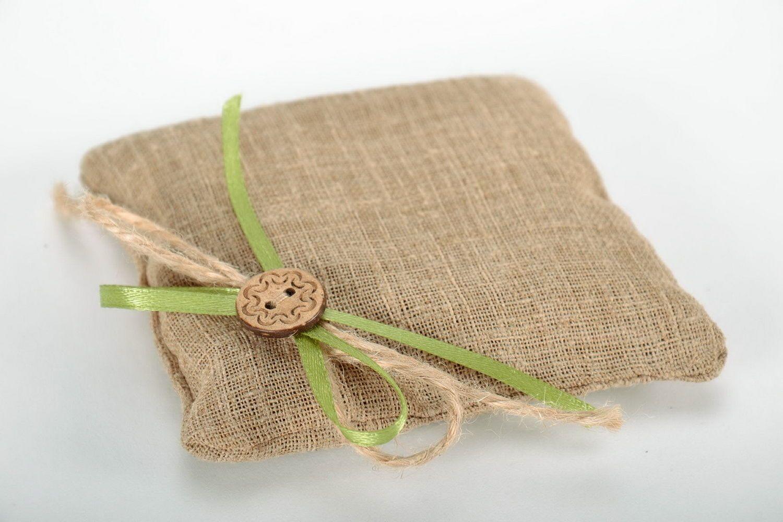 Flax sachet with herbs photo 3