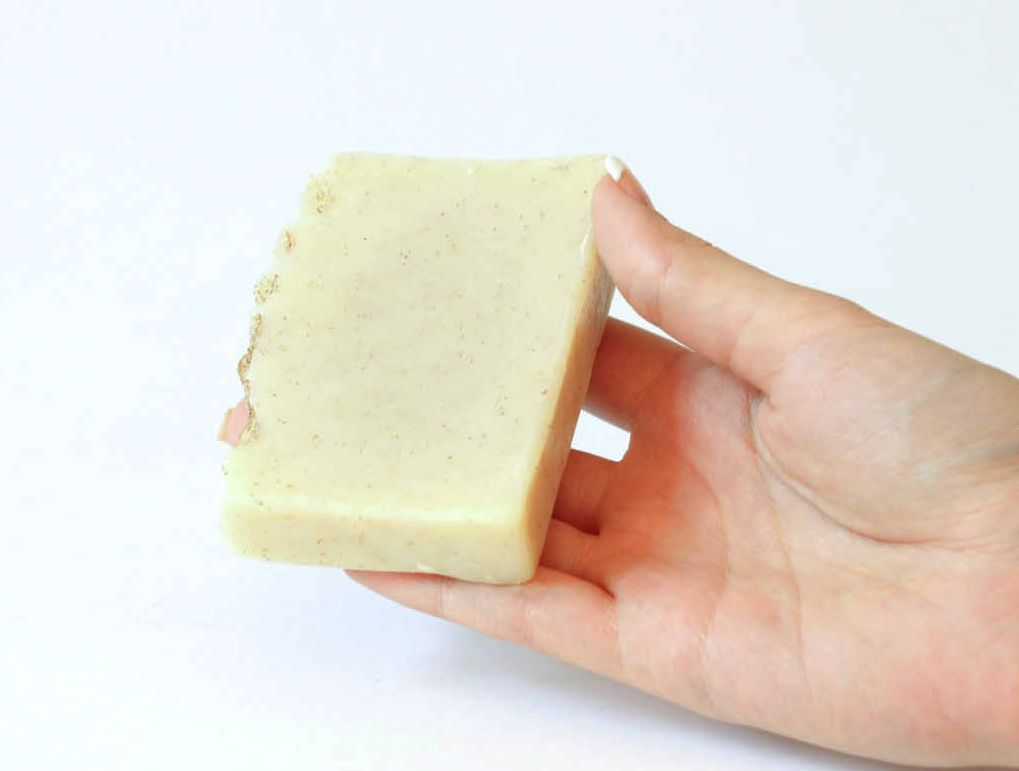 Handmade soap Almonds and goat milk photo 4