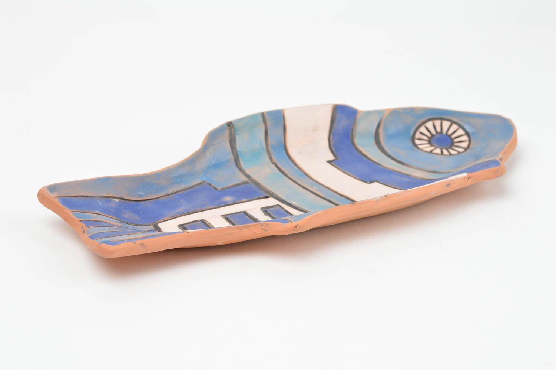 Handmade decorative wall plate ceramic plate for home decor designer plate photo 3