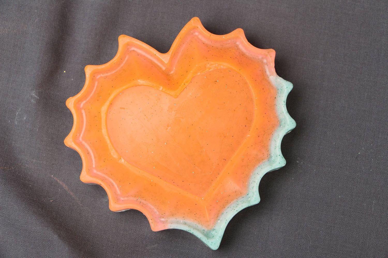 Heart-shaped gift soap photo 1