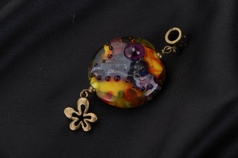Handmade Anhänger Purpurwolken foto 1
