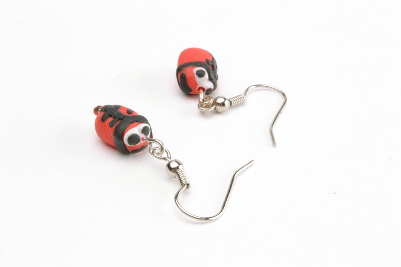 Polymer clay earrings photo 3