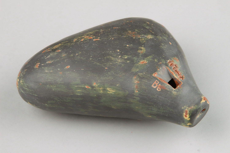 Ocarina, globular flute made of clay with 8 holes photo 5