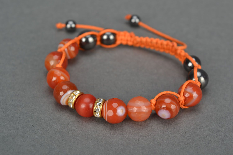 Natural stone bracelet photo 3