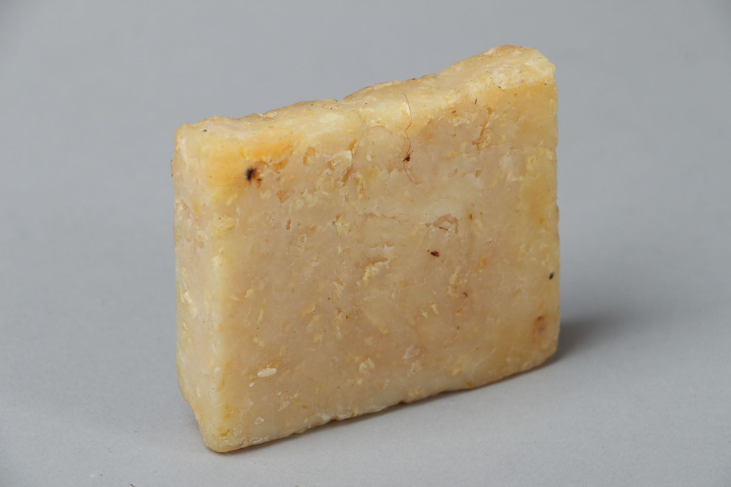 Scrub soap with coconut and rum photo 1