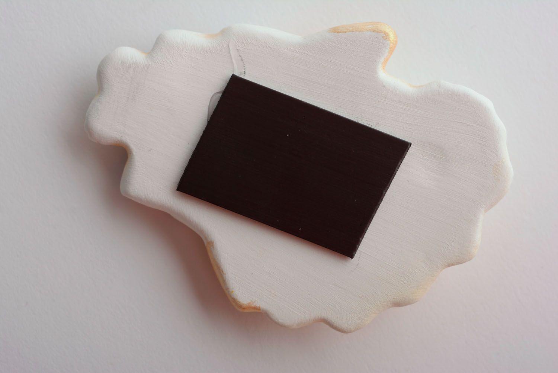 Ceramic fridge magnet Angel photo 5