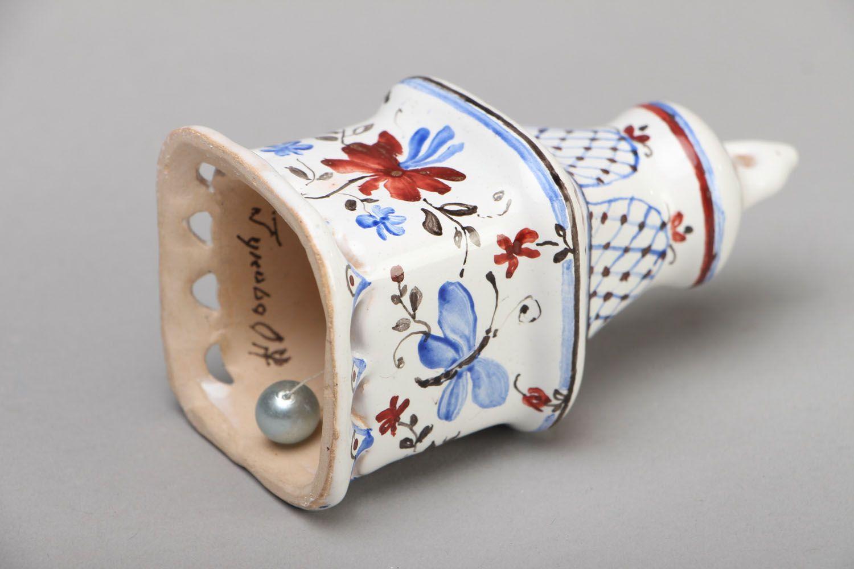 Gift ceramic bell photo 3
