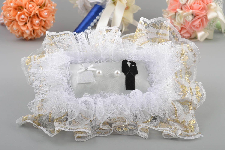 Мастер класс подушечка для свадебных колец