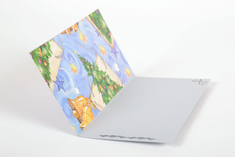 Designer card Bullfinch photo 3
