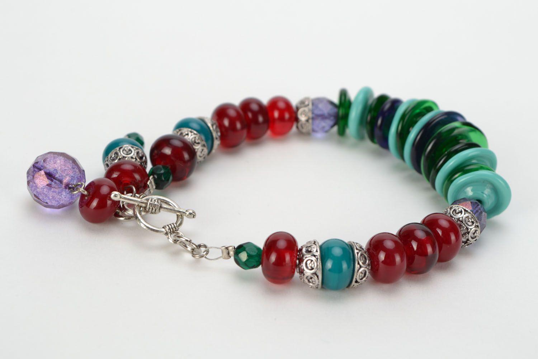 Festive glass bracelet photo 6