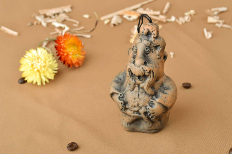 Ceramic bell kilned with milk Cheerful Cossack photo 5