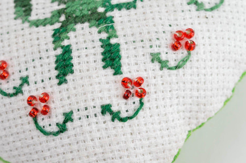 Handmade aromatized hanging unusual decorative pincushion designer soft toy  photo 5