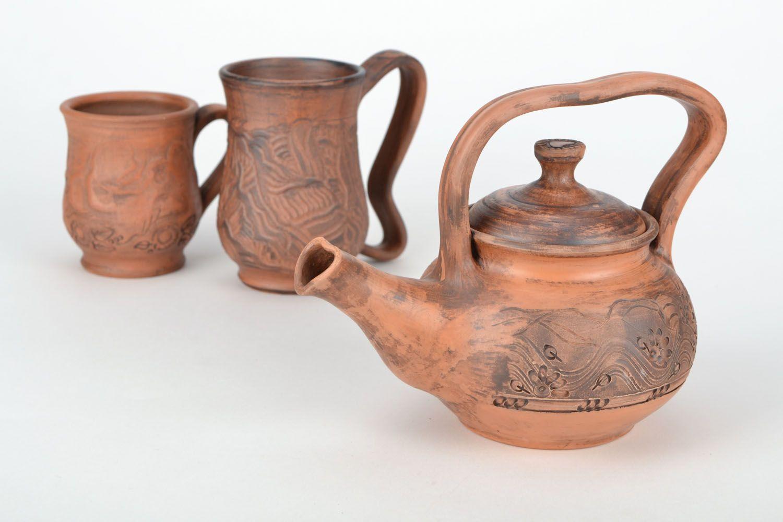 tea pots and coffee pots Ceramic teapot  - MADEheart.com