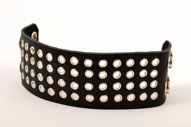 Leather wrap bracelet handmade jewelry men accessories handmade leather goods photo 3