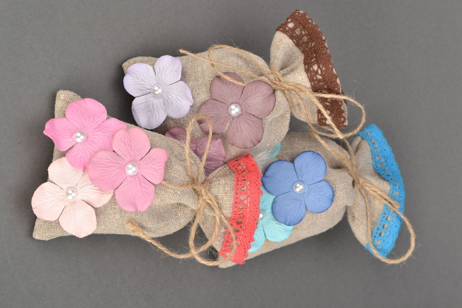 Scented linen bag photo 5